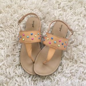 Cat and Jack girls summer sandals
